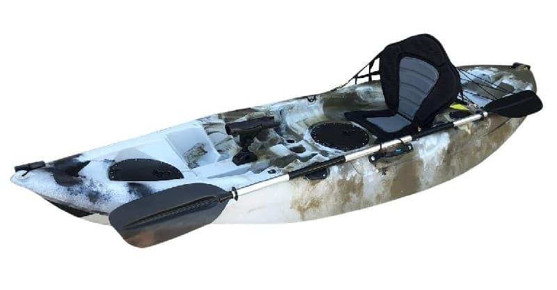 Cambridge Kayaks Zander Camo del Desierto kayakteka