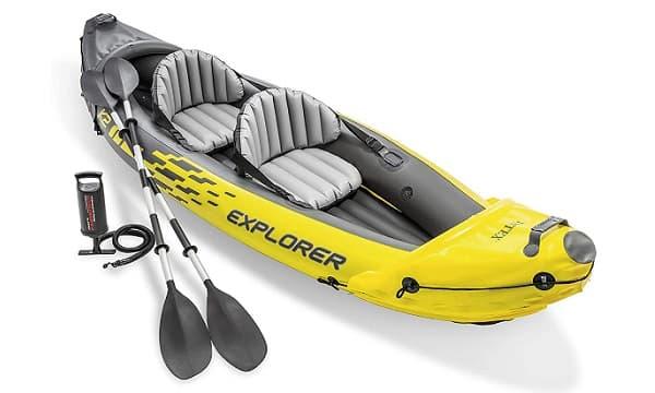 Ejemplo kayak hinchable