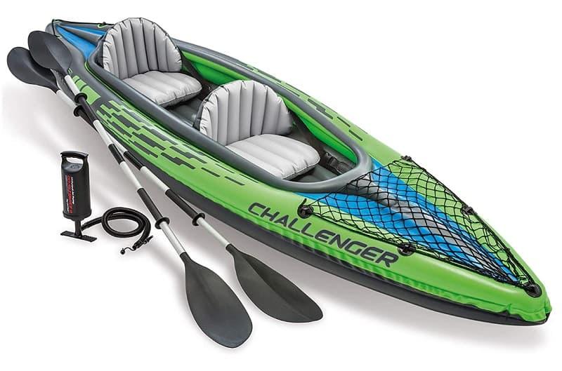 Intex 68306NP - Kayak hinchable Challenger K2 kayakteka