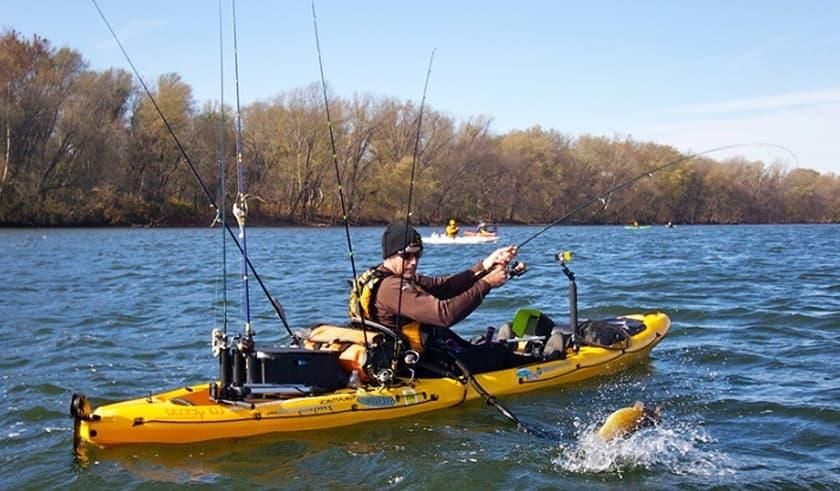 Pesca con Kayak kayakteka