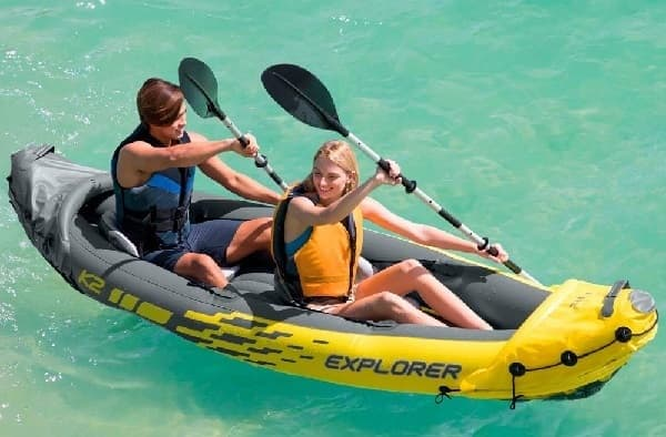 guia kayak hinchable kayakteka